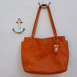 9d841494b6 sale orange classic prada handbag 9d6f0 9ca33  cheap prada bags orange  leather prada bag 805e9 5c69a